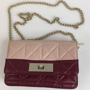 New Kate spade Quilted Leather crossbody bag